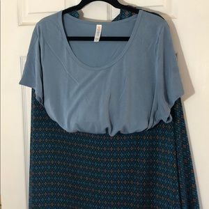 Lularoe Classic T and Maxi Skirt